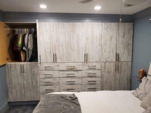 Custom Bedroom Closet dressing room