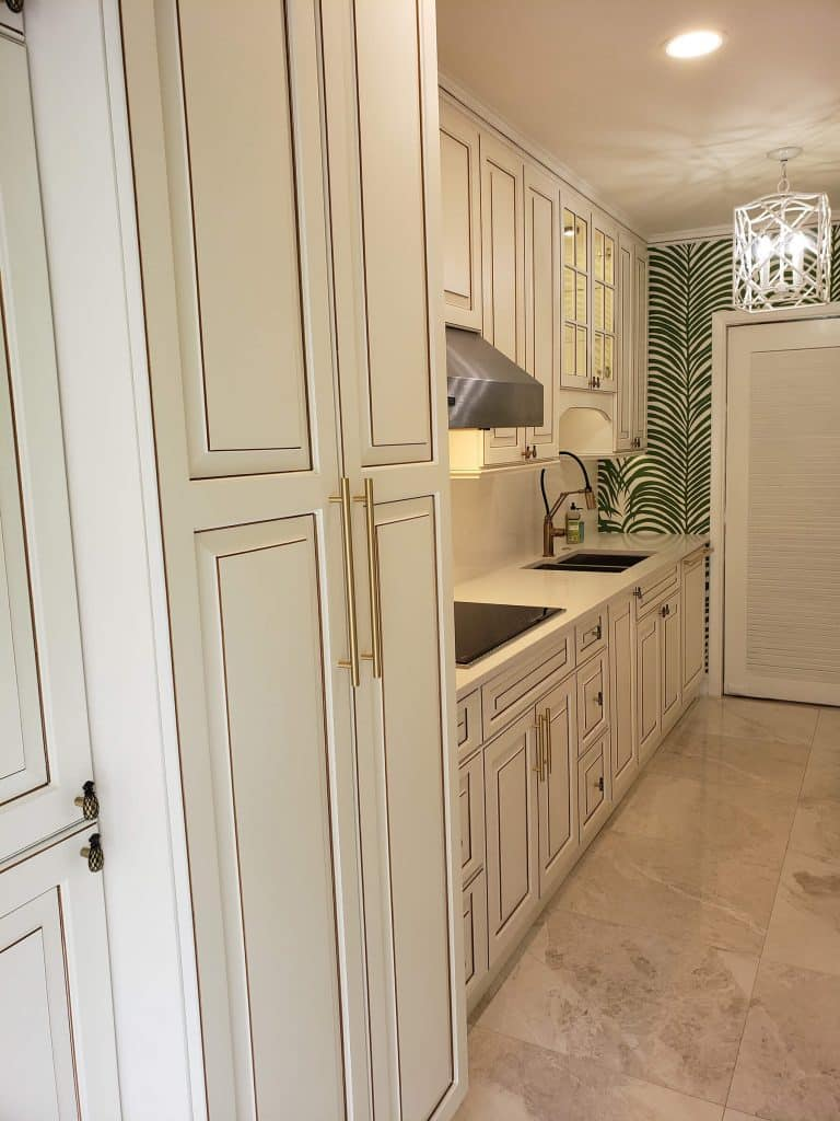 White kitchen cabinets palm beach gardens
