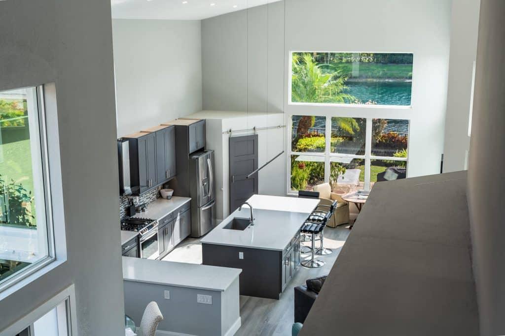 Arial View of Kitchen In Palm Beach Gardens FL